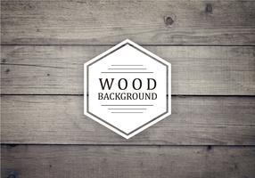Vecchio fondo di legno di vettore