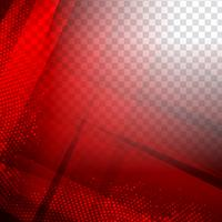 Fondo poligonale geometrico rosso moderno astratto vettore