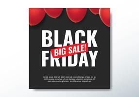 Grande vendita del Black Friday vettore