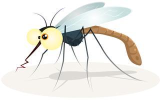 personaggio delle zanzare vettore