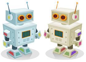 Robot giocattolo per bambini vettore