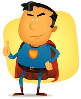 personaggio comico superman vettore