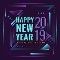 Felice anno nuovo Instagram Post