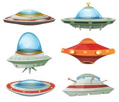 Flying Saucer, Spaceship e UFO Set