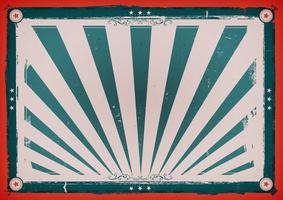 Poster orizzontale vintage Independence Day vettore