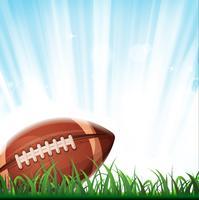 Sfondo di football americano vettore