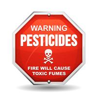 Avvertenza Pericolo per i pesticidi
