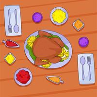 tavola del ringraziamento