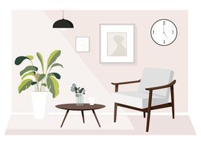 Vector soggiorno illustrazione