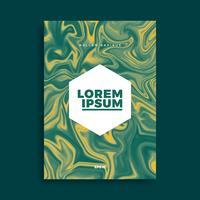 Disegno di copertina, sfondo liquido creativo