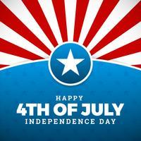 Design giorno dell'indipendenza
