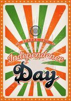 giorno dell'indipendenza dell'India vettore