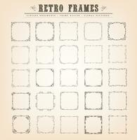 Vintage Old-Fashioned Frames