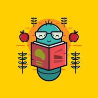 Vettore di topo di biblioteca