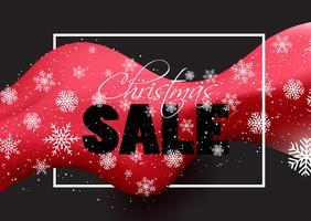 Sfondo di vendita di Natale vettore