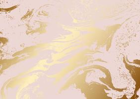Struttura astratta di oro rosa metallizzato