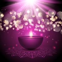 Diwali sfondo della lampada