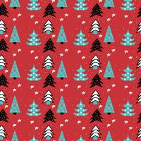 Pattern di alberi di Natale