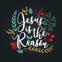 Disegno vettoriale di Gesù