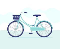 Illustrazione di biciclette vettore