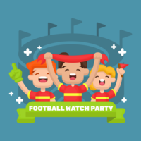 Festa di football watch