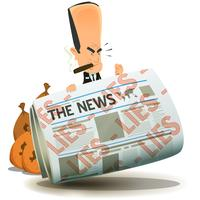 Banchieri e finanza che possiedono i media vettore