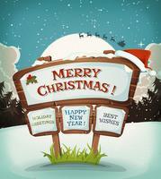 Fondo di vacanze di Natale vettore