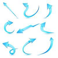 Set di freccia vettore