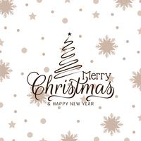 Fondo elegante di celebrazione astratta di Buon Natale vettore