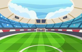 stadio per il calcio vettore
