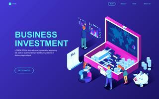 Banner Web di investimento aziendale