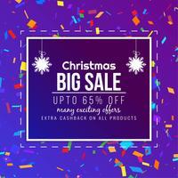 Fondo astratto di vendita di Buon Natale astratto