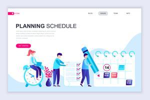 Pianificazione Web Banner pianificazione