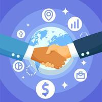 affari internazionali vettore
