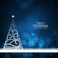 Astratto sfondo di celebrazione di buon Natale vettore