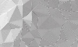 Trama di sfondo lineare geometrica. vettore