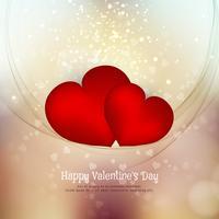 Fondo adorabile di San Valentino felice astratto vettore