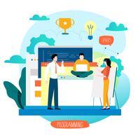 Codifica, programmazione, sviluppo di siti Web e applicazioni