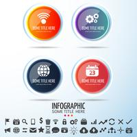 Elementi di design di infografica vettore