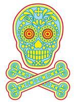 cranio di zucchero messicano