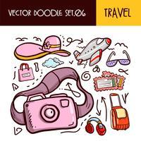 Icona di scarabocchi di viaggio