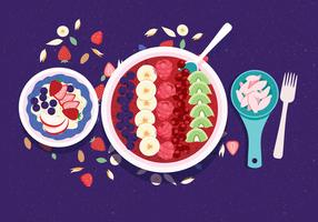 Colore Acai Bowl Vol 2 Vector