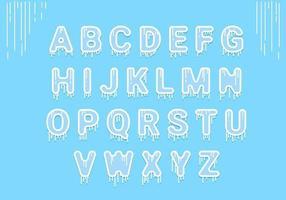 Icy Alphabet
