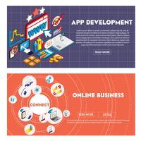 illustrazione del concetto di business grafico di informazioni in grafica 3d isometrica vettore