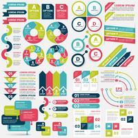 Vettore del modello di progettazione di infographics