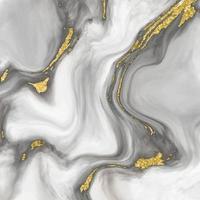 struttura in marmo con dettagli in oro vettore