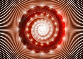Astratta spirale rossa