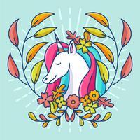 wannabe unicorno vettore