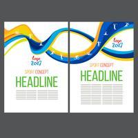 Disegno astratto modello vettoriale, brochure, siti Web, pagina, foglio illustrativo