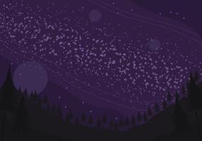 Sfondo galassia vettore